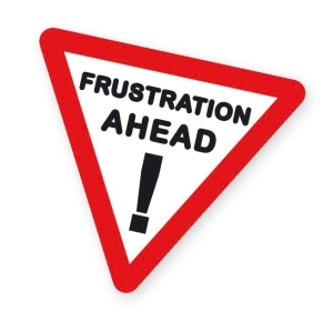Blogging Frustrations!